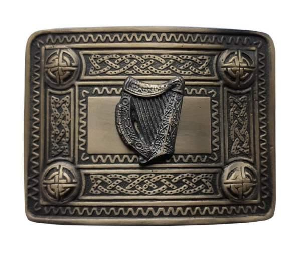 Men's Kilt Belt Buckle Antique Finish - Scottish Highland Celtic Buckles - Claddagh, Stag, Rampant Lion, Serpent, SaltireMen's Kilt Belt Buckle Antique Finish - Scottish Highland Celtic Buckles - Claddagh, Stag, Rampant Lion, Serpent, Saltire