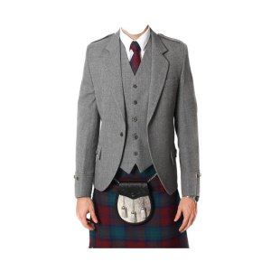 TWEED ARGYLE JACKET