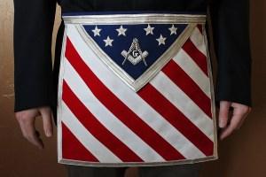 American Masonic Apron