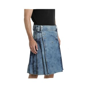 Denim kilt for Men