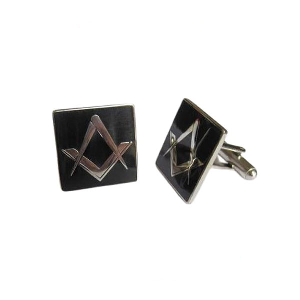 CuffLinks Masonic Black Lodge