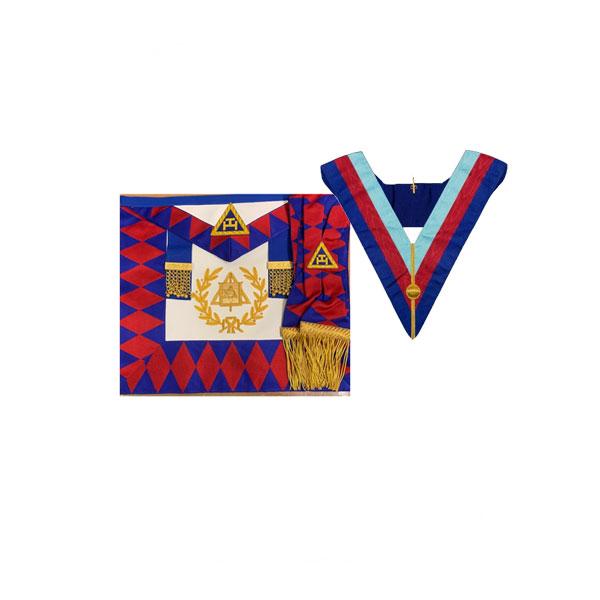 SUPREME GRAND CHAPTER APRON & SASH Collar