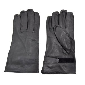 Military Issue Black Leather Glove