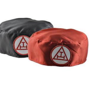 Royal Arch Ceremonial Soft Hat Cap Red Triple Tau