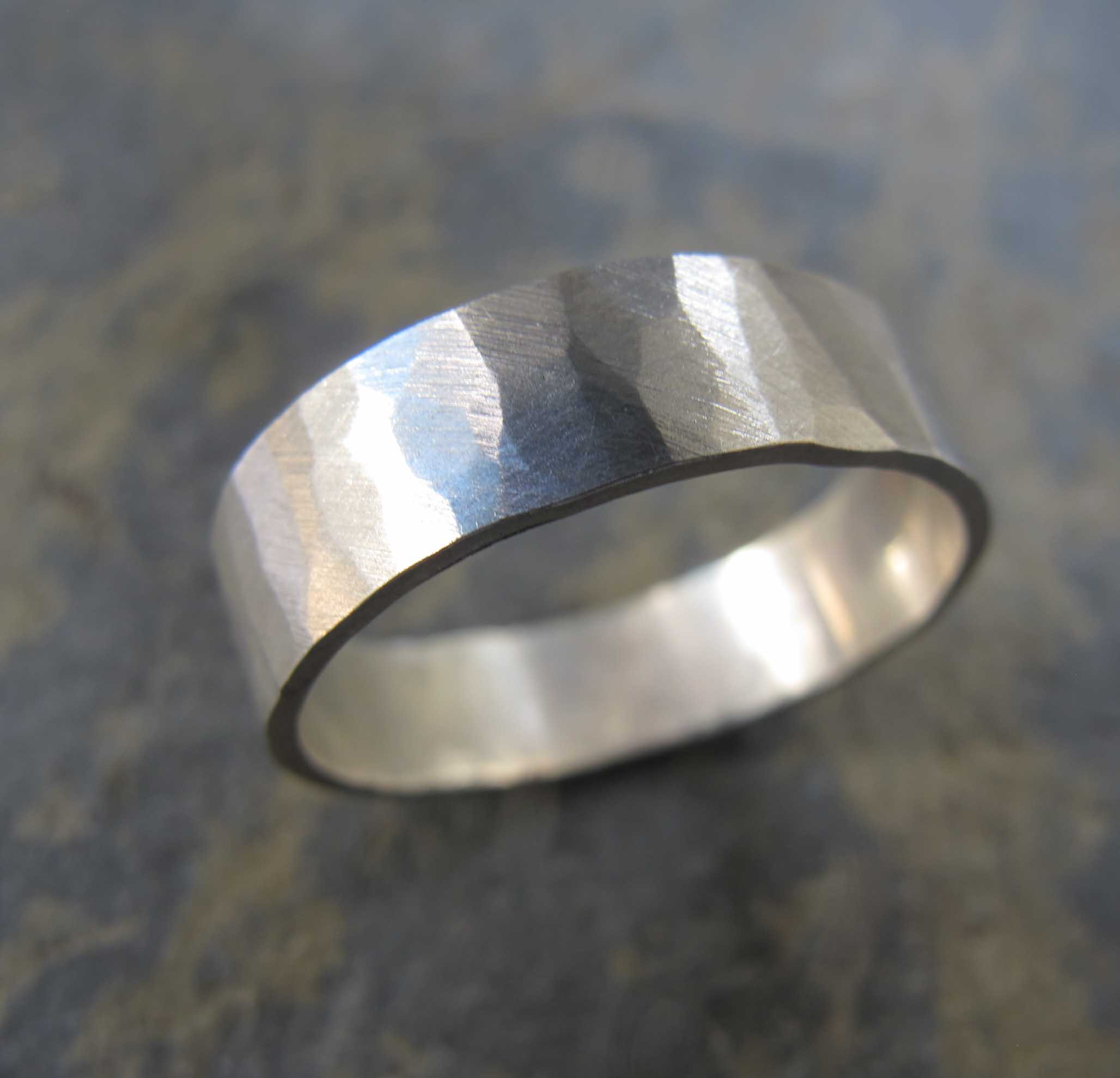 Mens handmade wedding band rings  London  Londons Artist Quarter