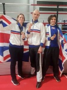 lonodn savate medalists