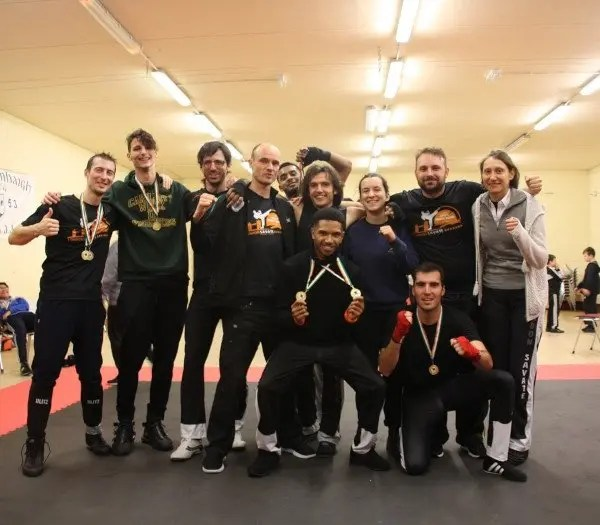 London Savate club team at Irish Open 2019
