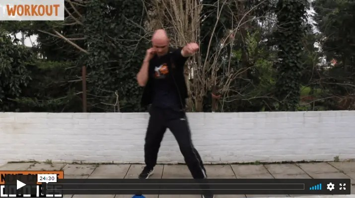Step and Punch: 10 boxing footwork drills
