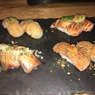 LondonsDiningCouple Dozo Sushi Soho Review | Top 10 Sushi Dishes in London