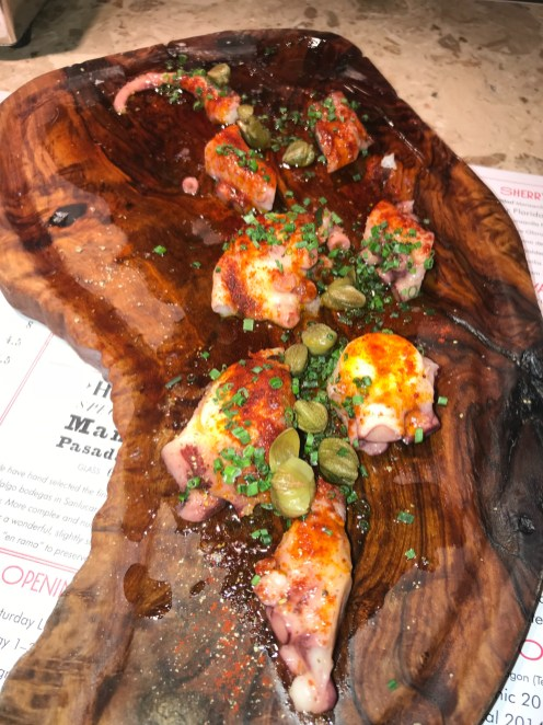 Octopus with Capers