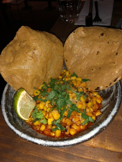 'nduja esquites with pan-fried corn Breddos Soho Review