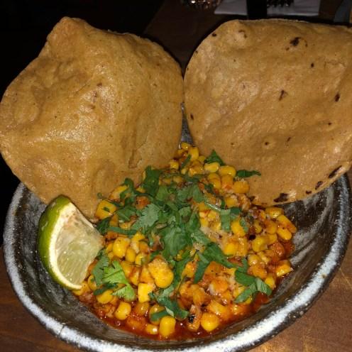 'nduja esquites with pan-fried corn Breddos Soho Review