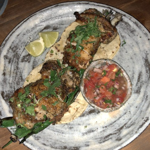 Wood grilled chicken - Breddos Soho Review