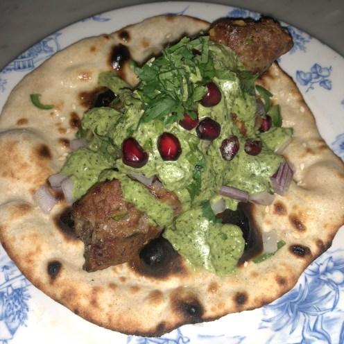 Seekh Kebab Roll - Tandoor Chop House Review