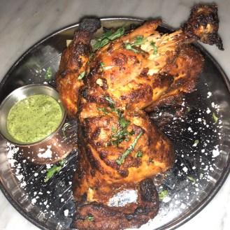 House Tandoor Chicken - Tandoor Chop House Review