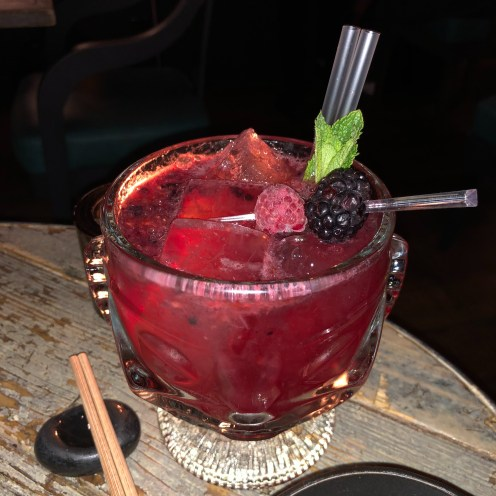 Berry Cooler (Non-Alcoholic) LondonsDiningCouple Black Roe Review