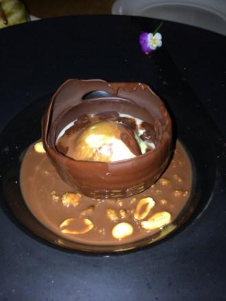 Nobu Chocolate Tart