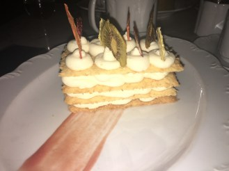 Guava Whipped Layered Cheesecake