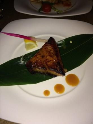 Half Portion of Black Cod Den Miso