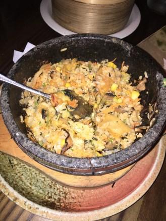 Veggie Hot Stone Rice