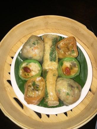 Vegetarian Dim Sum platter