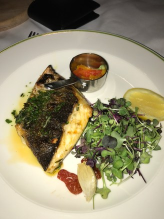 Roasted Sea Bass Fillet