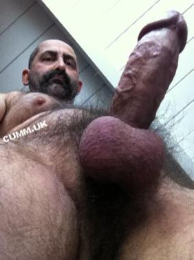 100 big cock beauty hairy silver daddy naked old man huge thick fat dick big belly