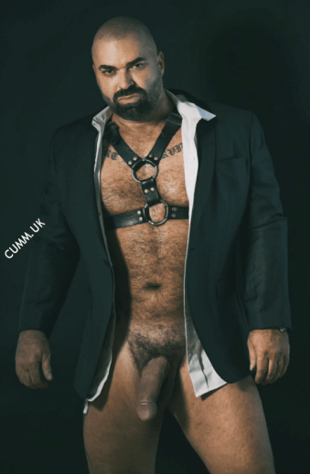 who is this daddy bear porn star?