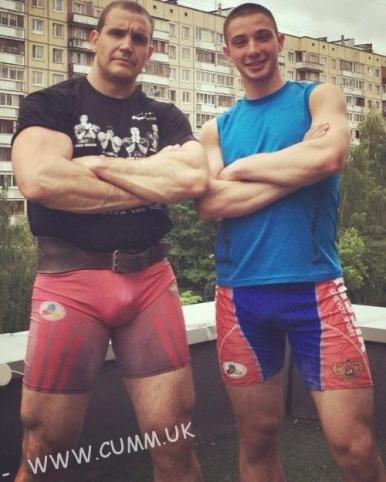 bulging dad and lad