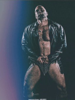 leather daddy god hairy jock