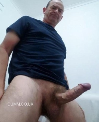 hung silver daddy dick