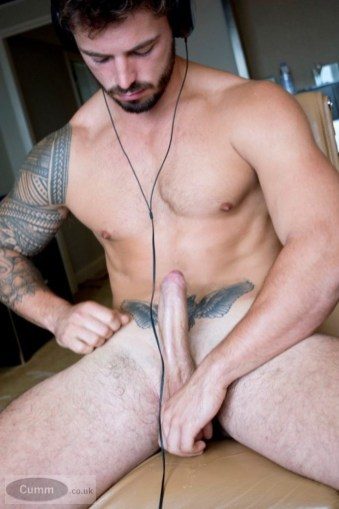 maybe Bi straight-rugby-player-with-a-long-uncut-cock-jacking-off