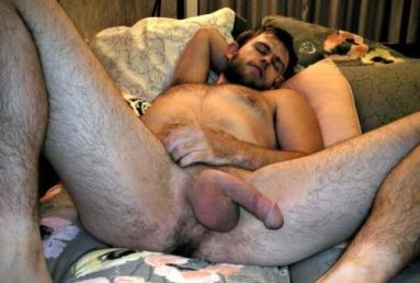 sleeping naked semi erection