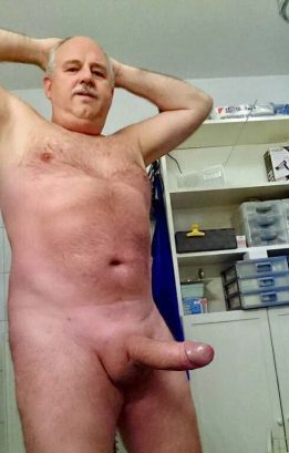 hard brexit english old man thick cock mushroomed dick