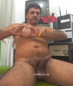 Indian daddy wank