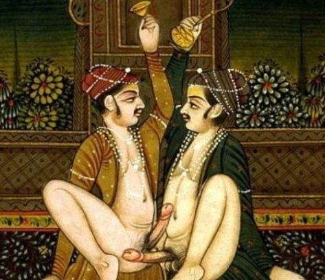 Sexual attributes of characters portrayed in ancient Indian porn were more varied and free, nothing seems taboo