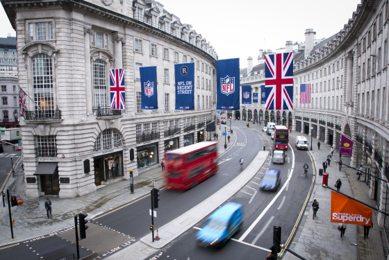 NFL on Regent Street - Flags_9