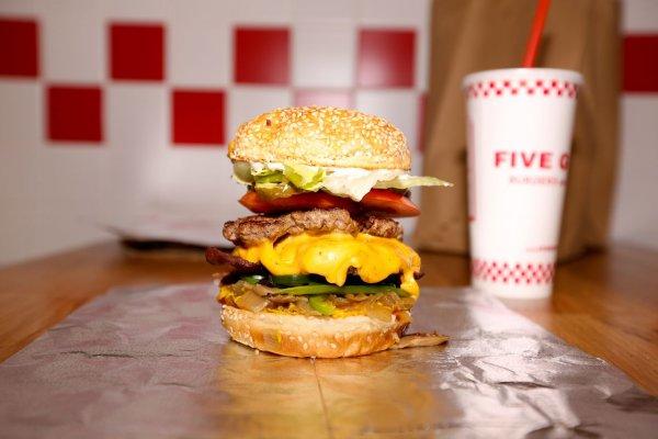 Five Guys Burger Shot
