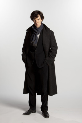 Benedict Cumberbatch in Belstaff coat, photograph by Colin Hutton. © Hatswood Films