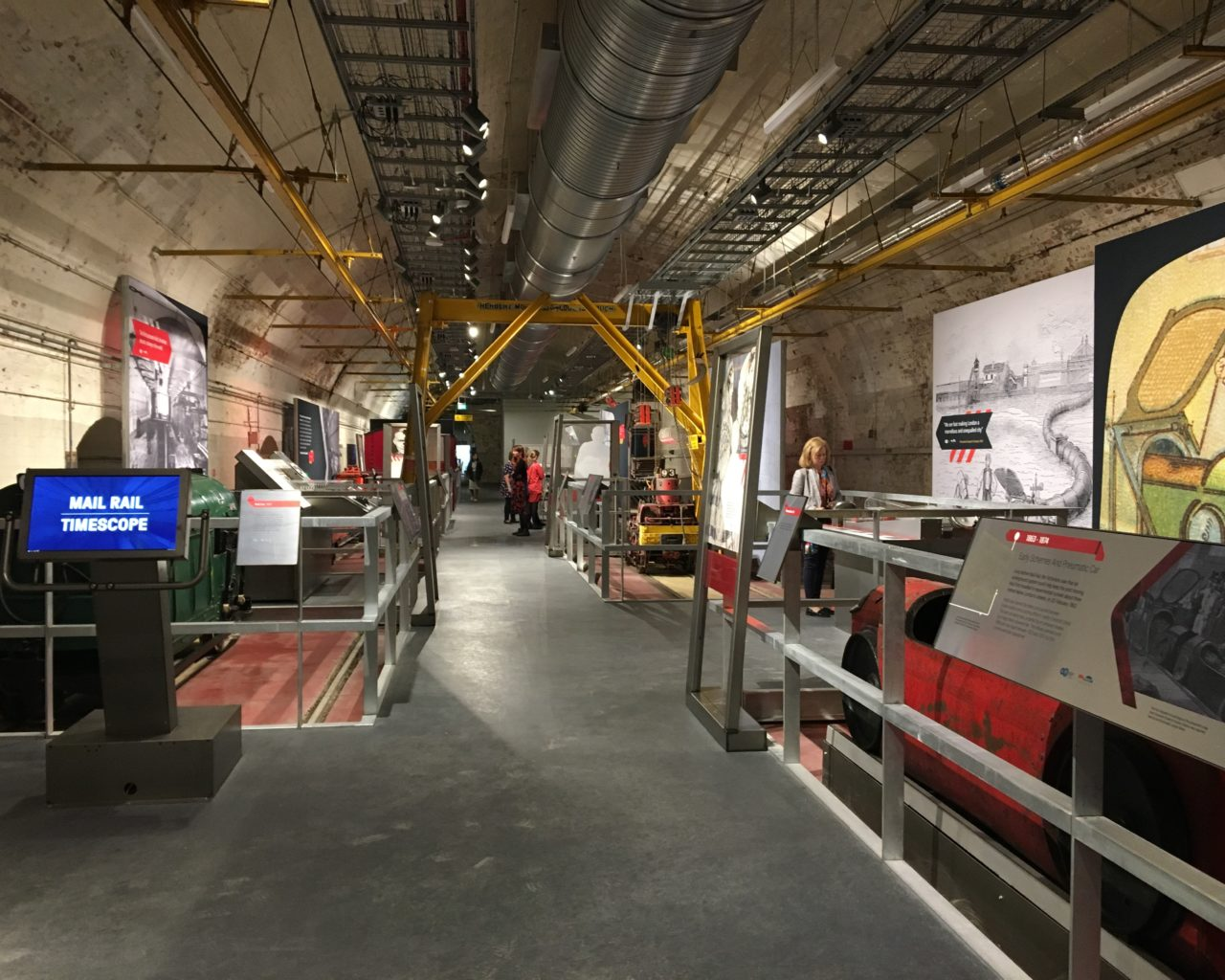 Mail Rail Exhibition