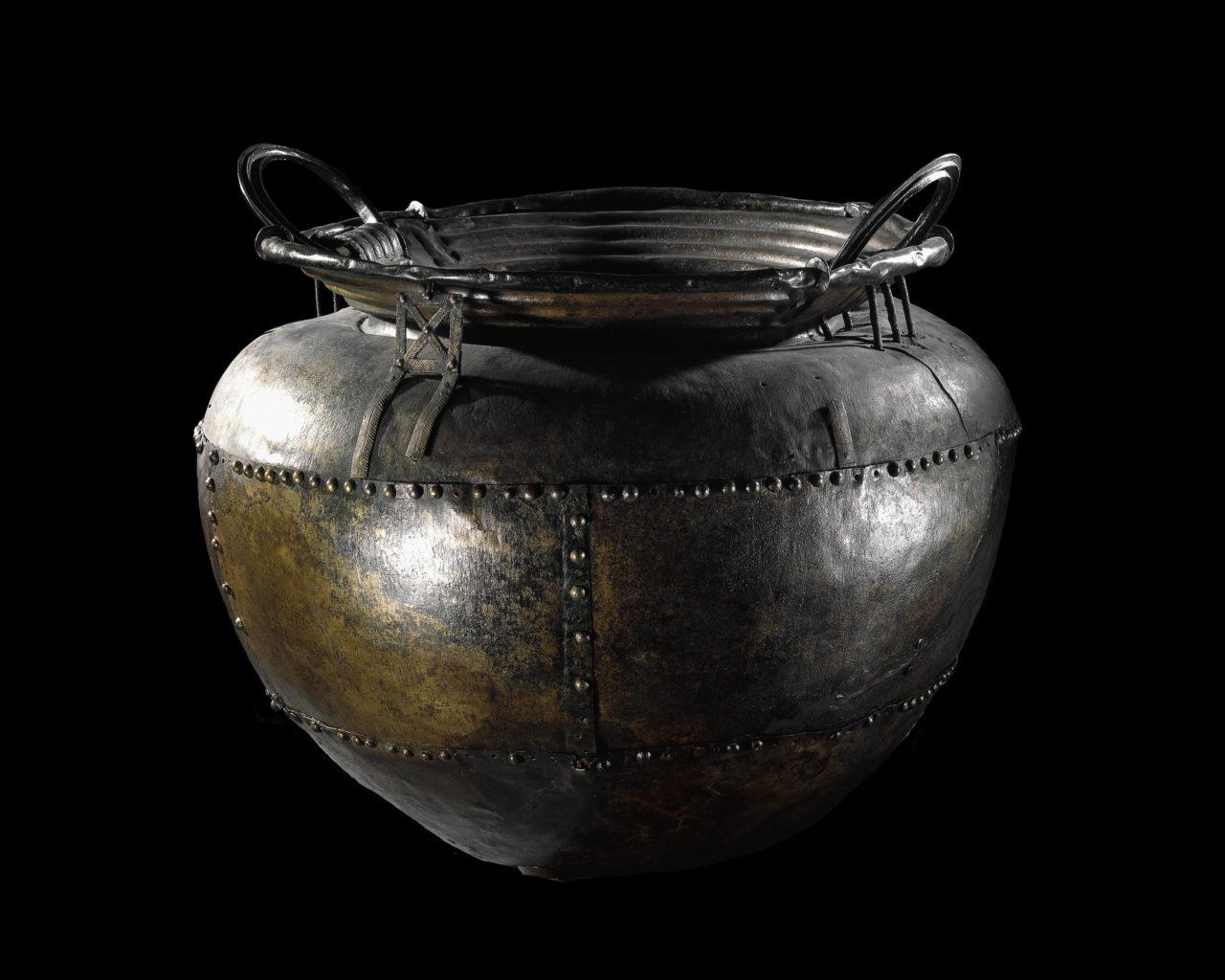 Battersea Cauldron, on loan from Trustees of the British Museum. © Trustees of the British Museum