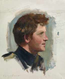 Nicky Philipps, Preparatory sketch of Prince Harry, 2009