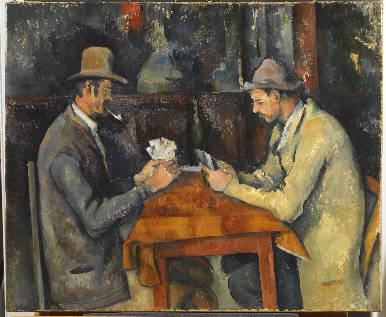 The Card Players - Paul Cézanne, c. 1892-6