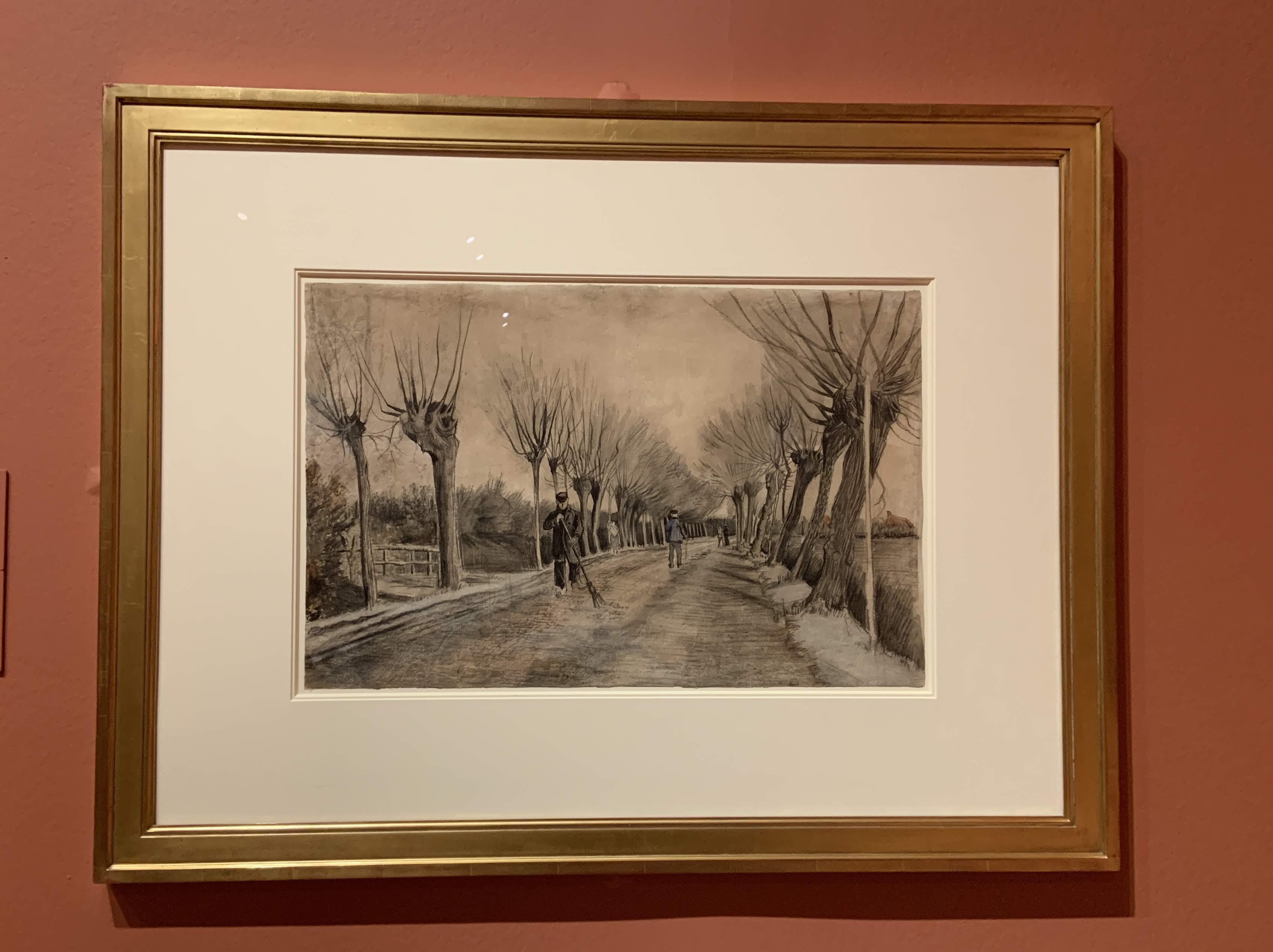 Vincent van Gogh - Road in Etten, 1881