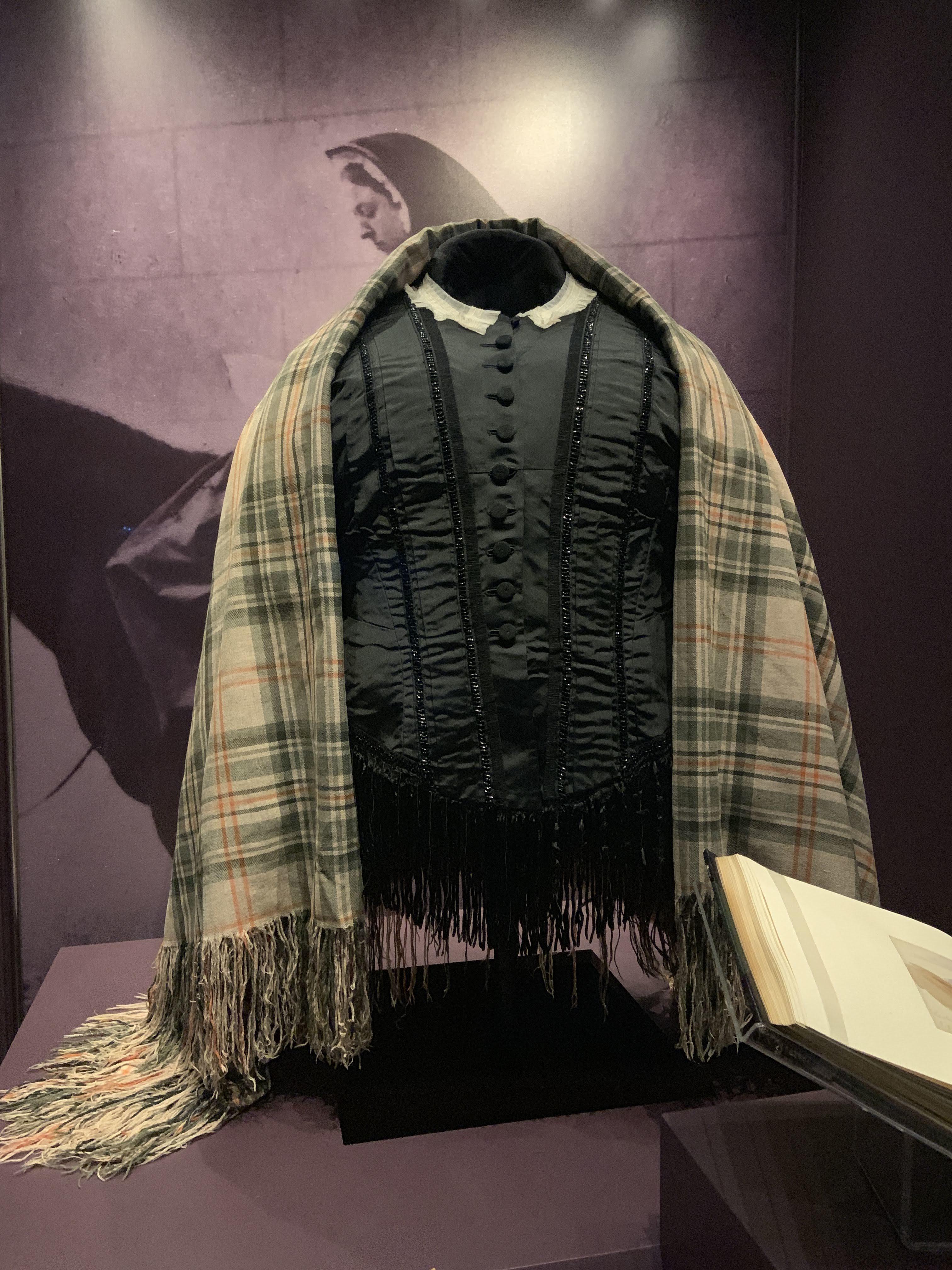 Queen Victoria's Balmoral Tartan Shawl