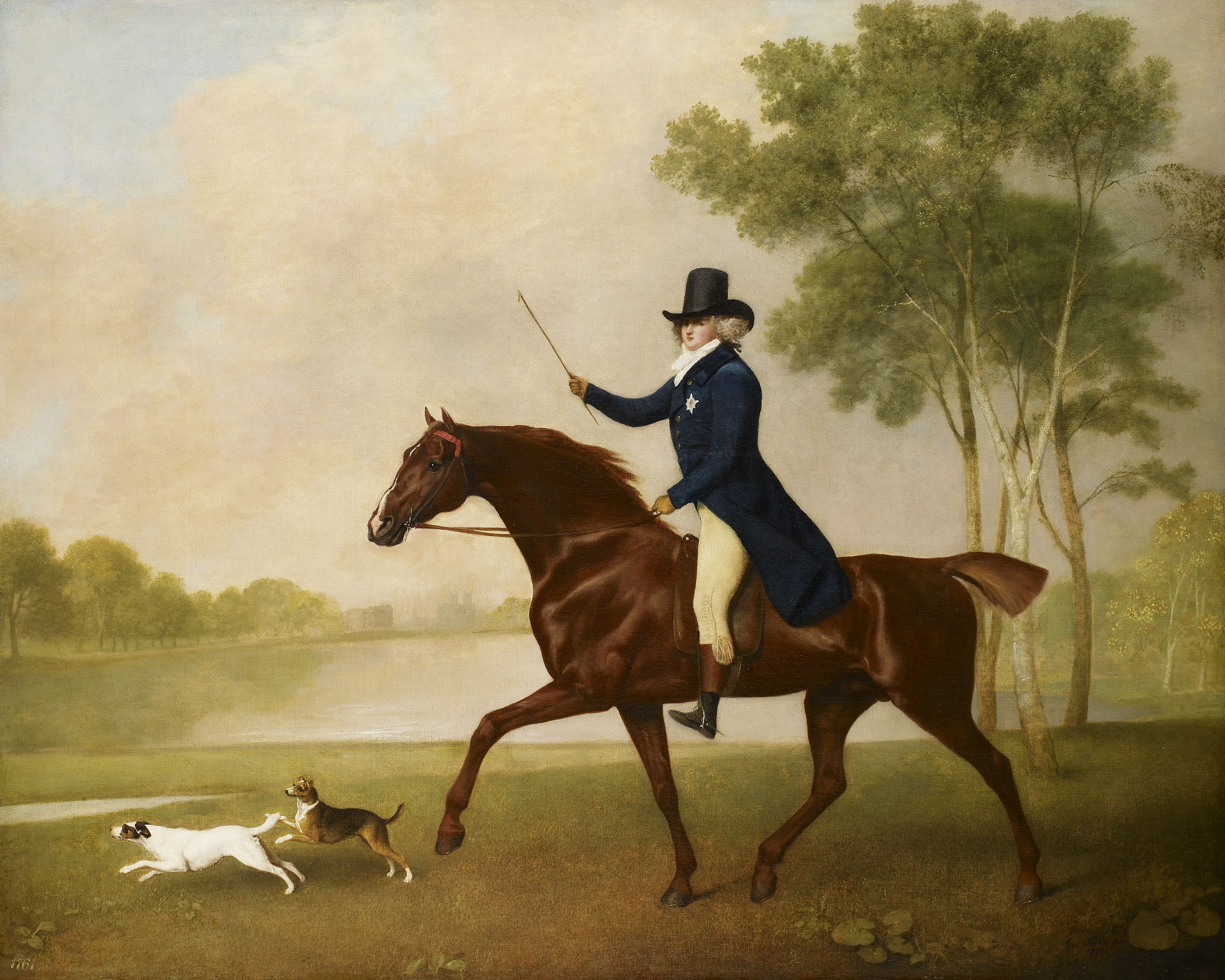 George Stubbs, George IV (1762-1830) when Prince of Wales, 1791