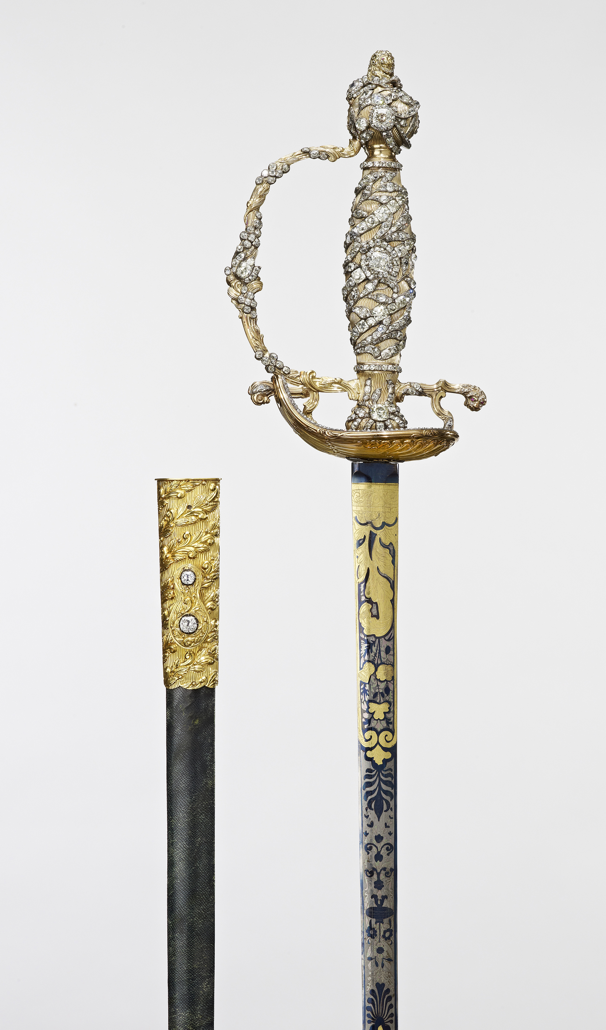 Rundell, Bridge and Rundell, Sword and scabbard, c.1750-1820