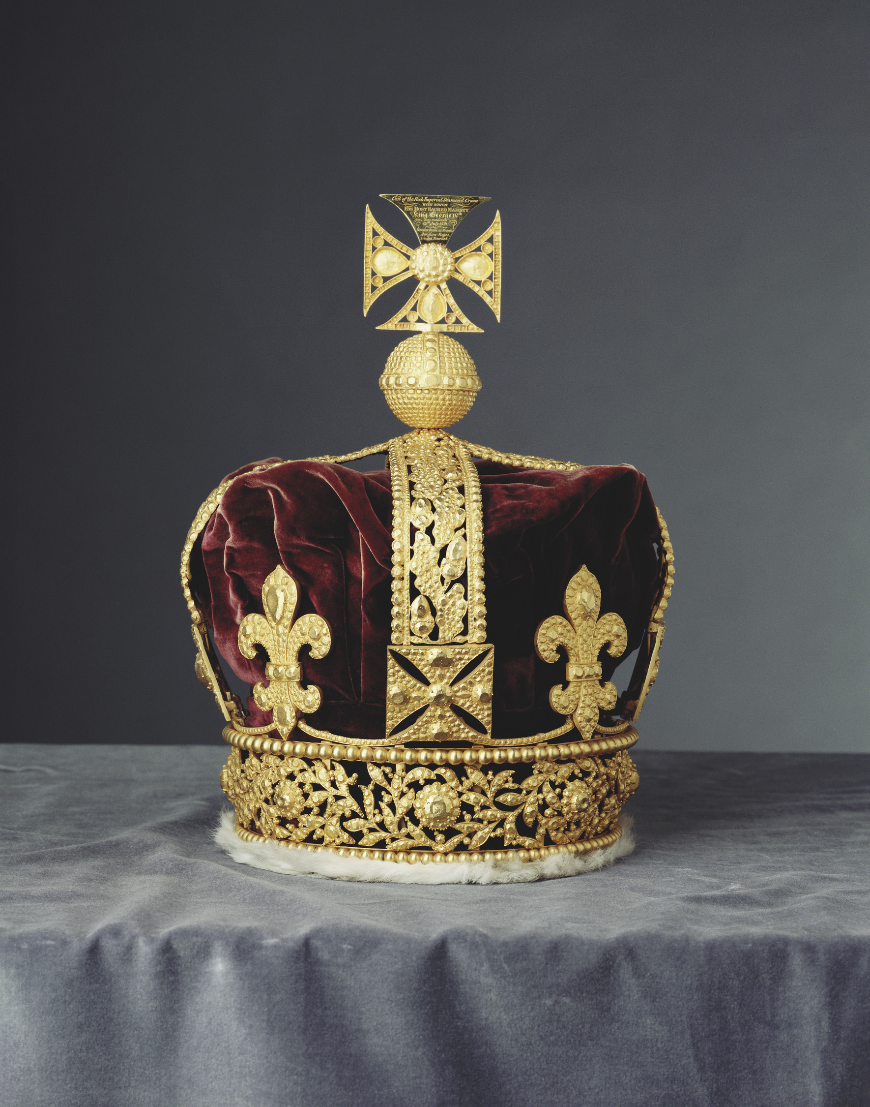 Rundell, Bridge and Rundell, Cast of the Imperial State Crown, 1823
