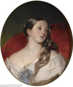 Queen Victoria at 24, a specially commissioned portrait for Prince Albert