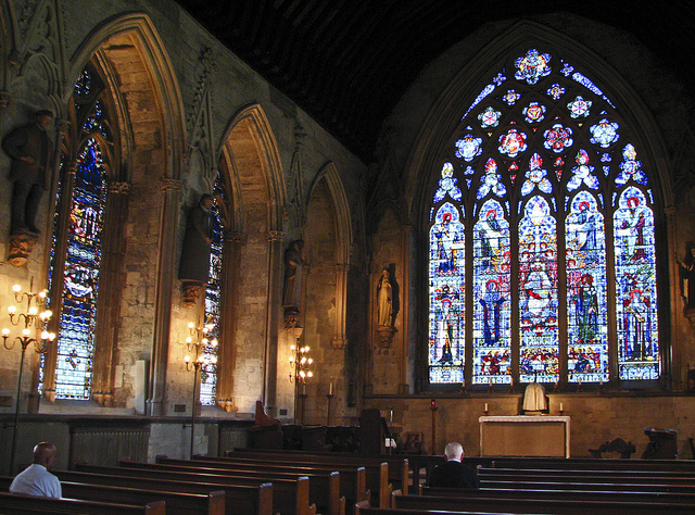 ST Etheldreda, interior